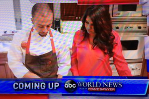 ABC World News Wants ME to Make Dinner? ME??