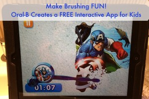 New App That Makes Tooth Brushing Fun For Kids