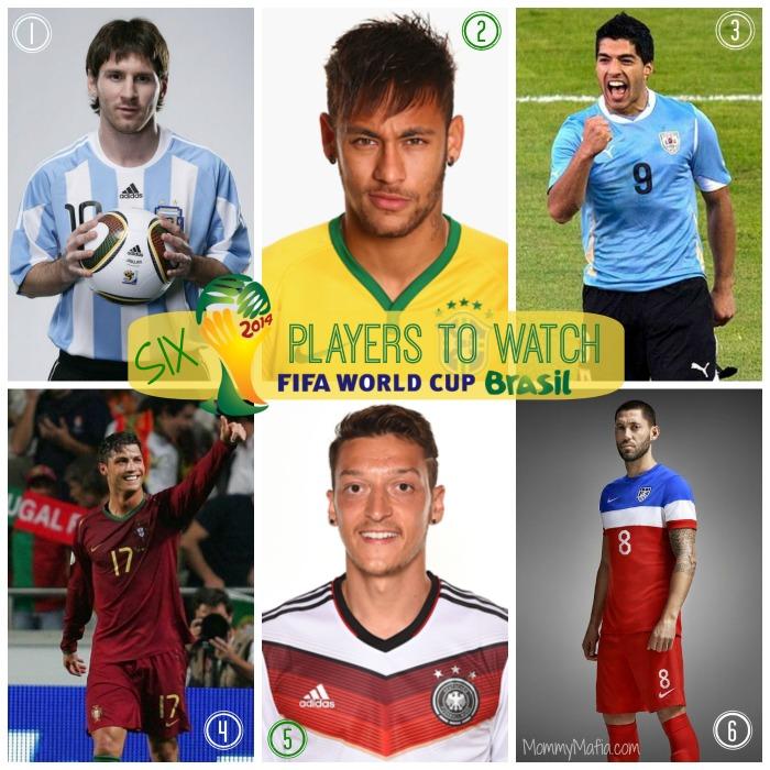 2014 World Cup Players mommymafia.com