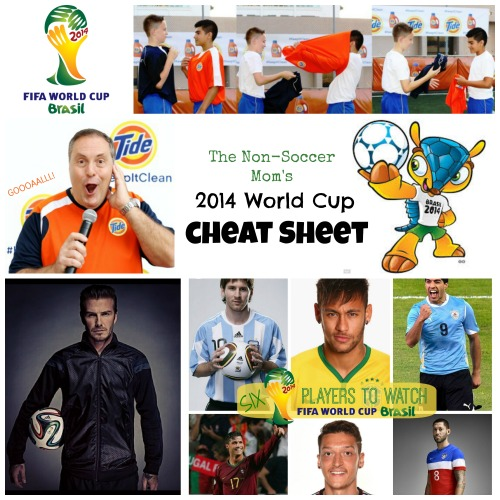 World Cup Cheat Sheet MommyMafia.com