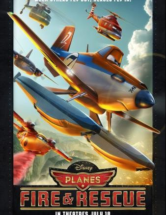 Disney's Planes: Fire & Rescue in Theaters Now