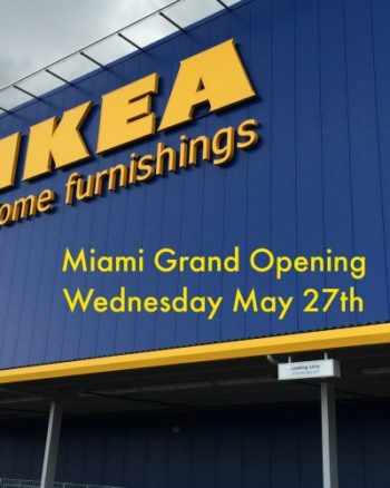Ikea Miami Grand Opening mommymafiamiami.com