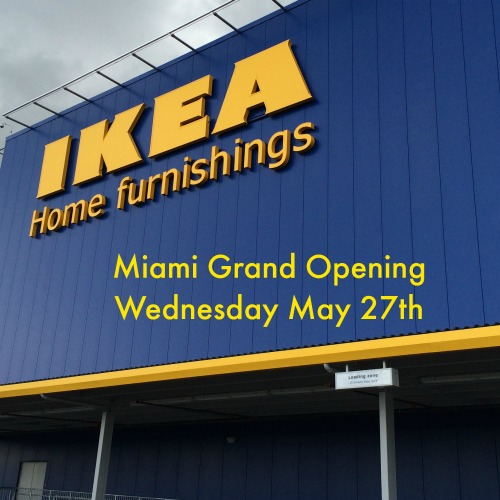 ikea miami celebrates their grand opening with great giveaways mommy mafia. Black Bedroom Furniture Sets. Home Design Ideas