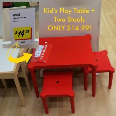 Ikea Miami Kid Table mommymafia.com