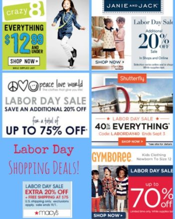 Labor Day Sales Roundup