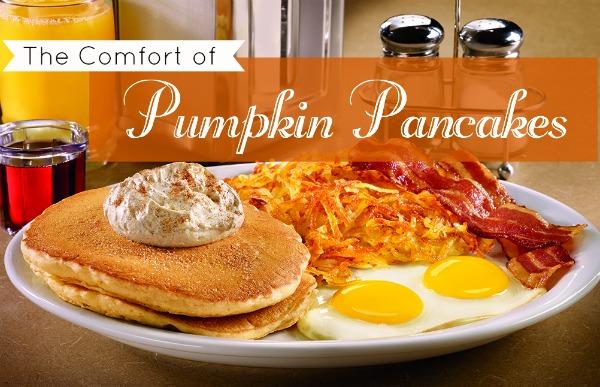 Pumpkin Pancakes #DennysDiners MommyMafia.com
