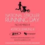 National Stroller Running Day November 8th