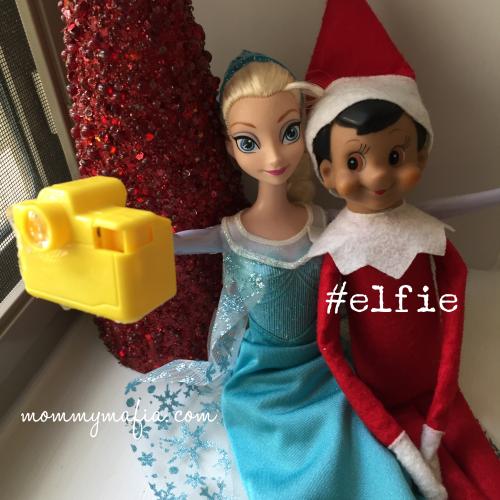Elf_on_the_Shelf_Selfie_with_Elsa_MommyMafia.com
