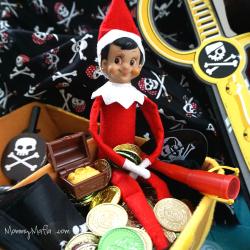 Pirate Elf on a Shelf MommyMafia.com