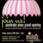 Misha's Cupcakes Pembroke Pines Grand Opening