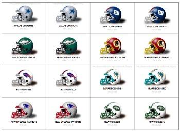 NFL Memory Matching Game mommymafia.com