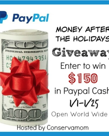 Money After The Holidays $150 Cash Giveaway