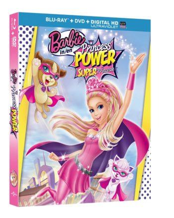 Barbie In Princess Power Blu-Ray Giveaway!