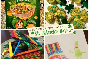 Lucky Treats & A Leprechaun Trap For St. Patrick's Day