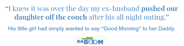 The Big Kaboom divorce quote mommymafia.com