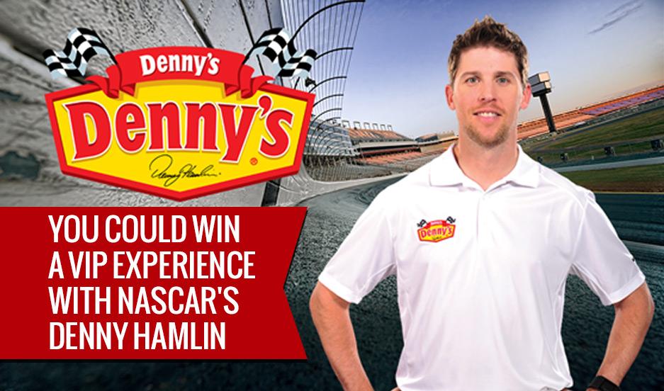 Denny Hamlin Dennys Dennys