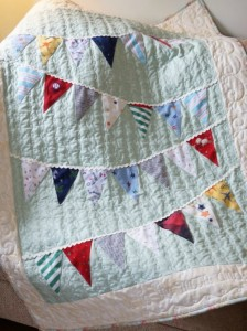 Mother's Day Keepsake ideas Memory Quilt