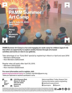 PAMM Summer Camp