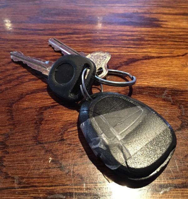 Escalade keys MommyMafia.com