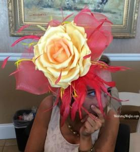 Rose Kentucky Derby Hat MommyMafia.com