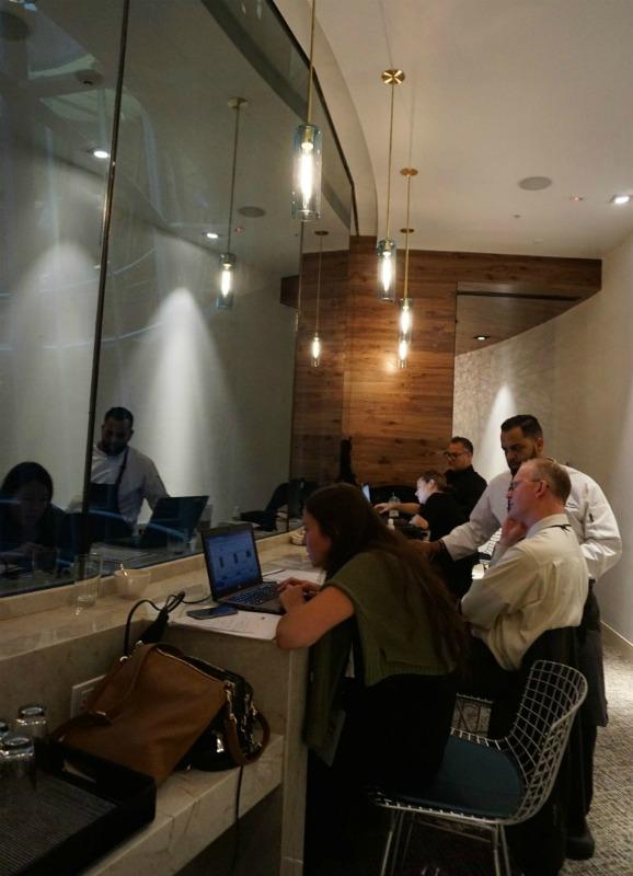 Amex workspace centurion lounge miami