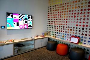Family Room AMEX Centurion Lounge Miami