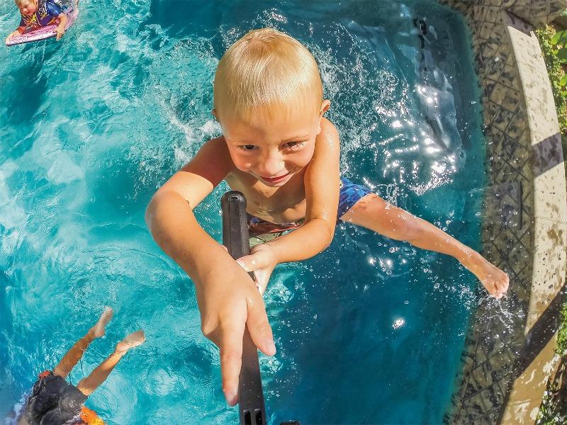 GoPro Hero Swim Selfie MommyMafia.com