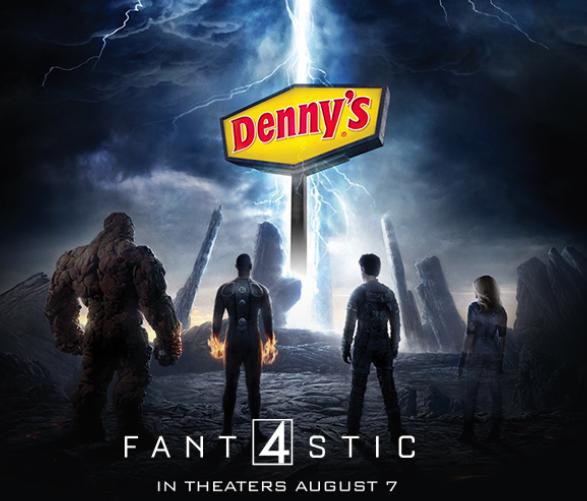 Dennys Diners Fantastic 4 MommyMafia.com
