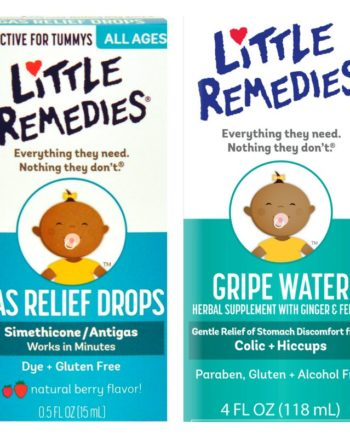 New Mom Must Haves: Little Remedies Gripe Water & Little Remedies Gas Relief Drops