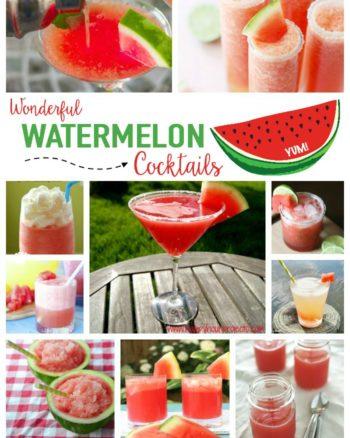 Wild & Wonderful Watermelon Cocktails