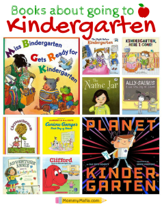 Books About Going To Kindergarten MommyMafia.com