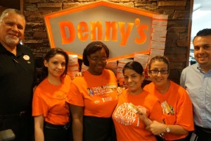 Go Miami! This Denny's No Kid Hungry Team Is A Winner #DennysNKH #DennysDiners