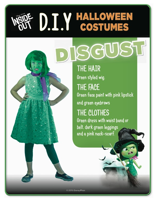 Disney Inside Out Disgust costume