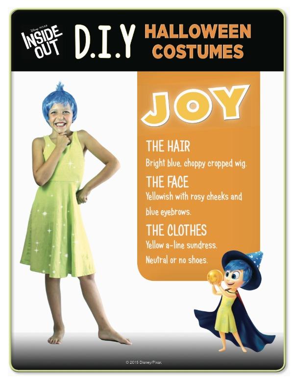 Disney Inside Out Joy costume