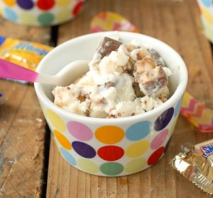 Leftover Halloween Candy Trick or Treat Ice Cream;