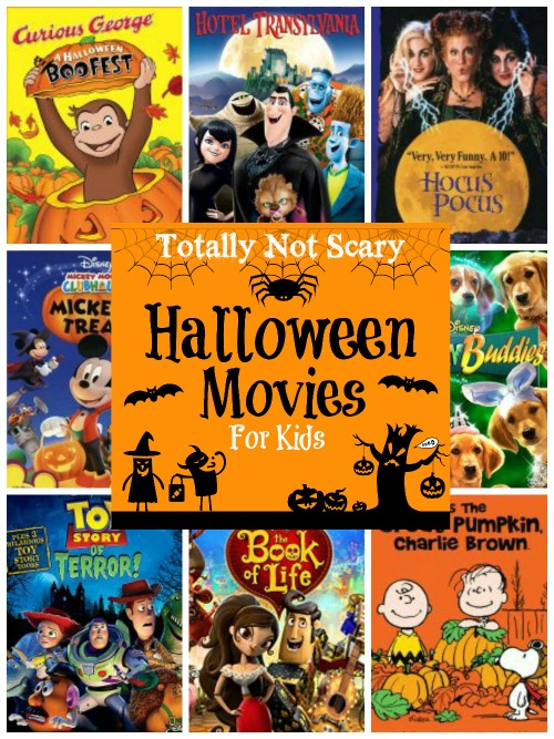 Totally Not Scary Halloween Movies for kids