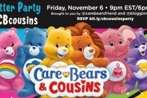 Bloggin Mamas & Care Bears™ #CBcousins Twitter Party Friday, 11/6  9p EST