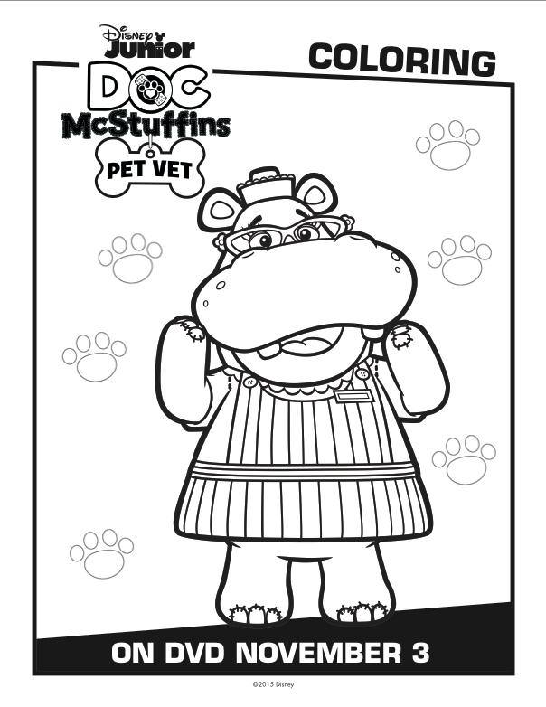 Disney Doc McStuffins Coloring pages 2