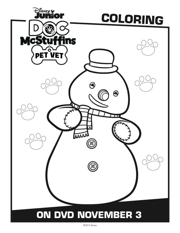 Disney Doc McStuffins Coloring