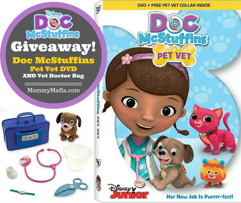 doc mcstuffins pet vet giveaway