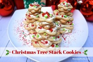 Easy Christmas Tree Stack Cookies