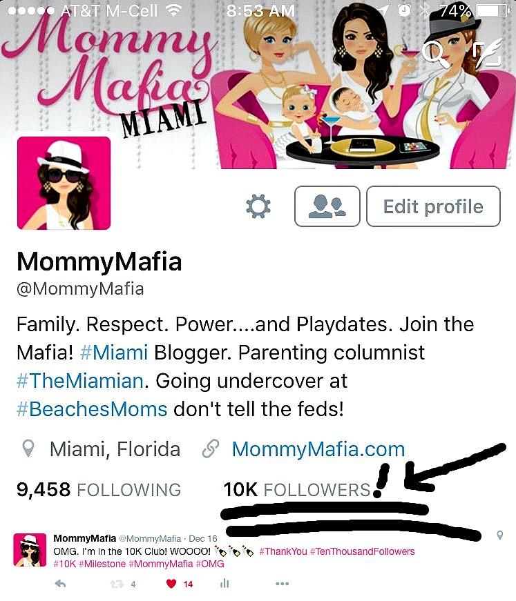 The Day I Hit 10K Twitter Followers MommyMafia.com