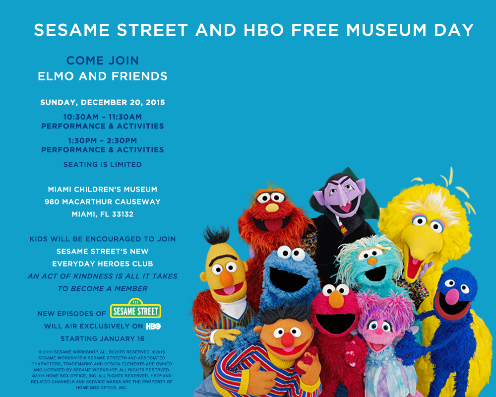 Sesame Street Miami Childrens Museum
