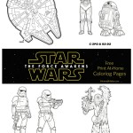More Free Star Wars: The Force Awakens Coloring Pages