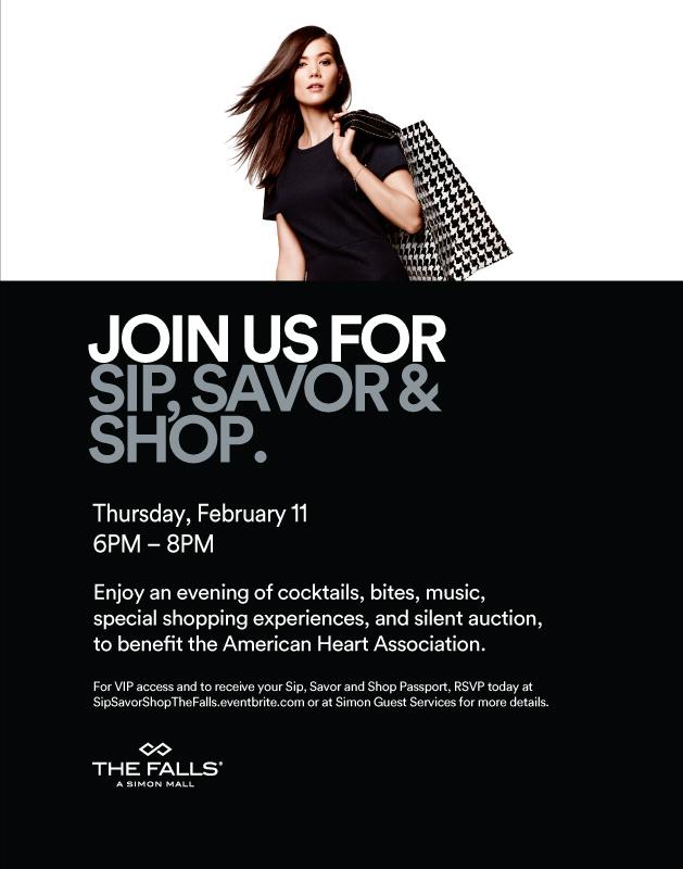 Sip Savor Shop Falls Miami