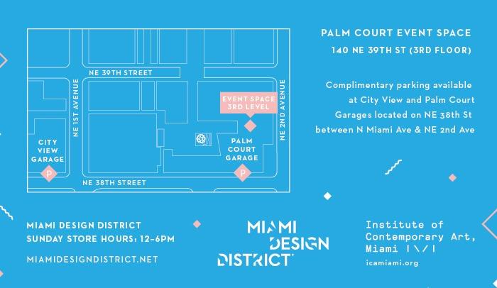 ICA Miami Map