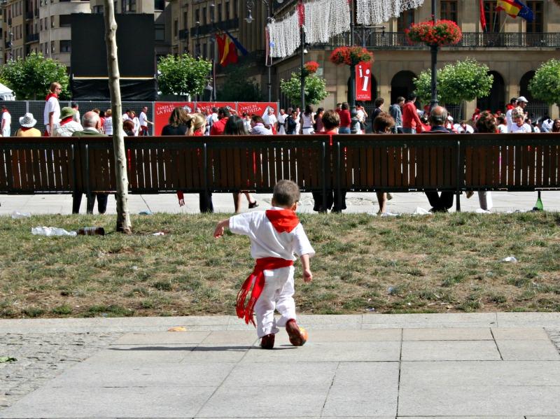 little boy running of the bulls mommymafia