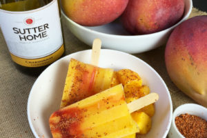 Summer Spicy! Mango Chile Wine Popsicles