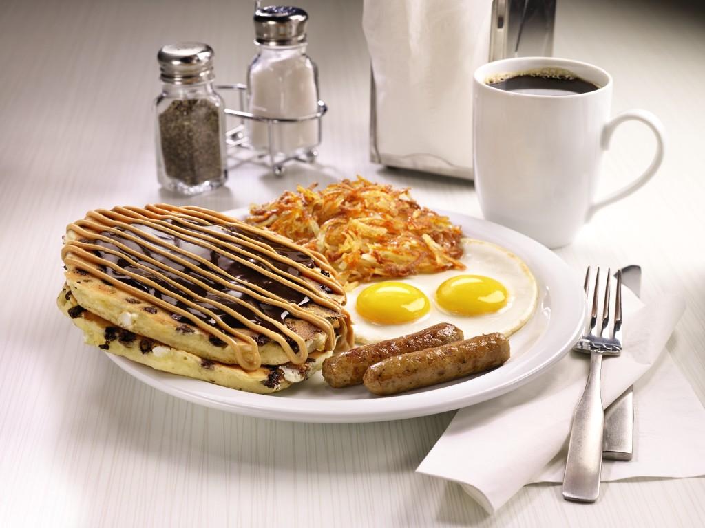 Dennys Peanut-Butter-Cup-Pancake-Breakfast