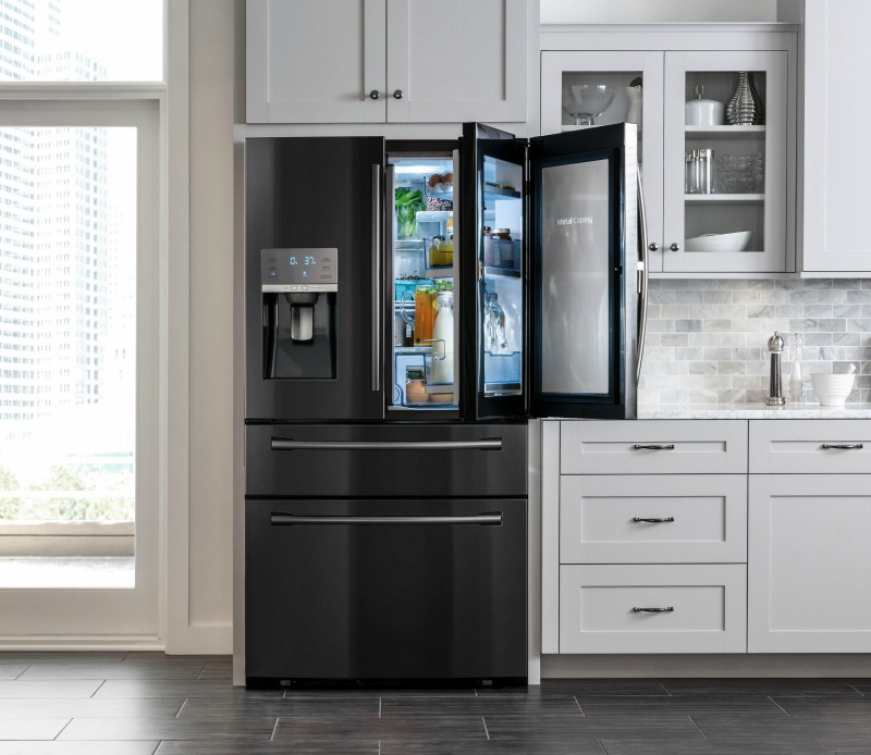 Kitchen Design Pictures Black Appliances: Bringing Sexy Back To The Kitchen. Samsung's Black